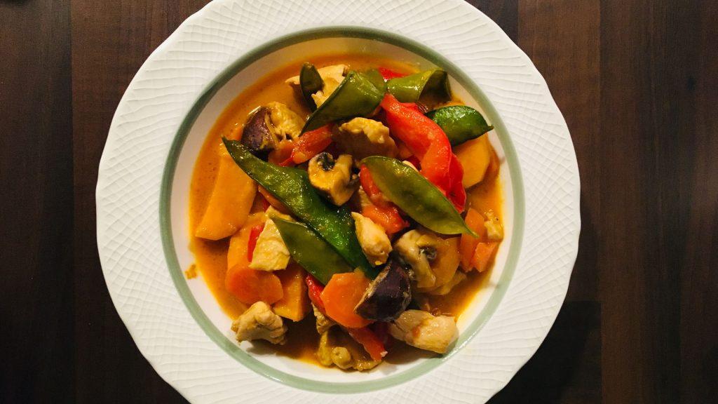 Rotes Thai Curry Rezept